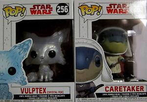 crystal Fox - Figuren Set / Funko Pop! Verhindern, Dass Haare Vergrau Werden Und Helfen, Den Teint Zu Erhalten Vulptex Star Wars Caretaker