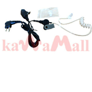Covert-Acoustic-Tube-Earpiece-FOR-Motorola-2-PIN-Radio