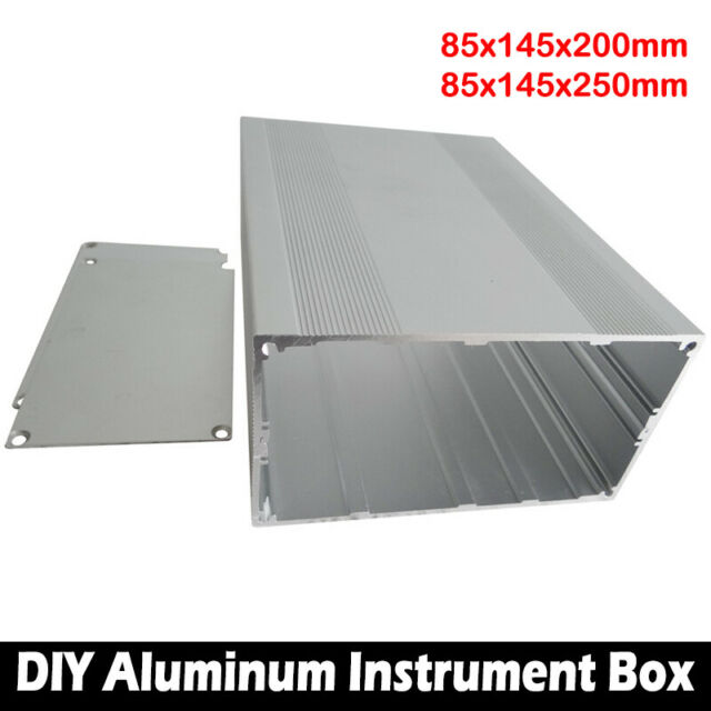 Body Aluminum Box Enclosure Case Electronic DIY Project Sheet 85x145x250mm