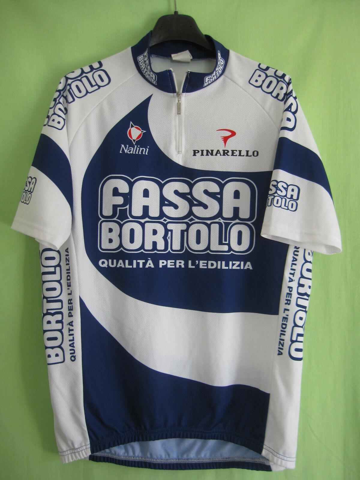 Maillot cycliste Fassa Bortolo 2004 cycling Nalini Cycles jersey - 4   L