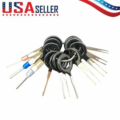 11 Terminal Removal Tool Car Electrical Wiring Crimp Connector Pin Extractor Kit