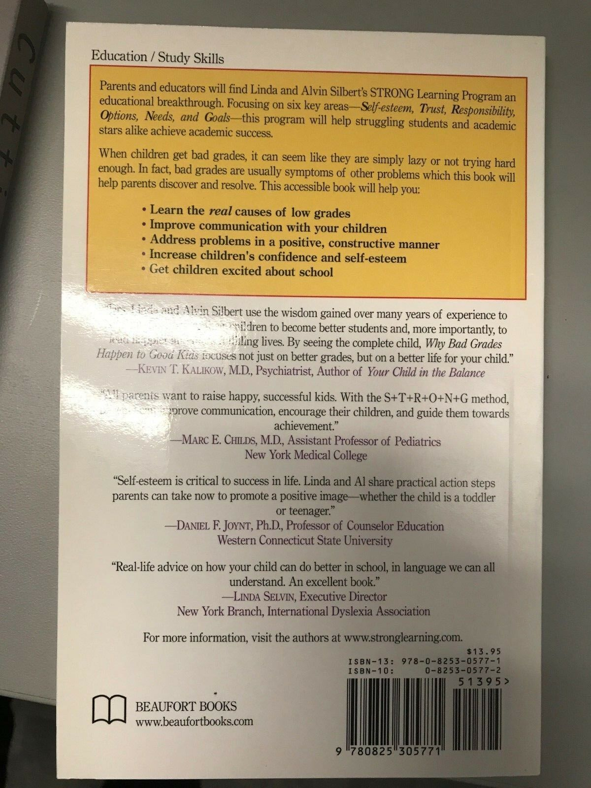 Why Bad Grades Happen to Good Kids : What Parents Need to Know, What  Parents Need to Do by Linda Bress Silbert and Alvin J  Silbert (2007,  Paperback)