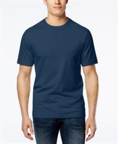 Club Room Crew Neck Basic T-Shirt Navy Blue Mens 3XL New