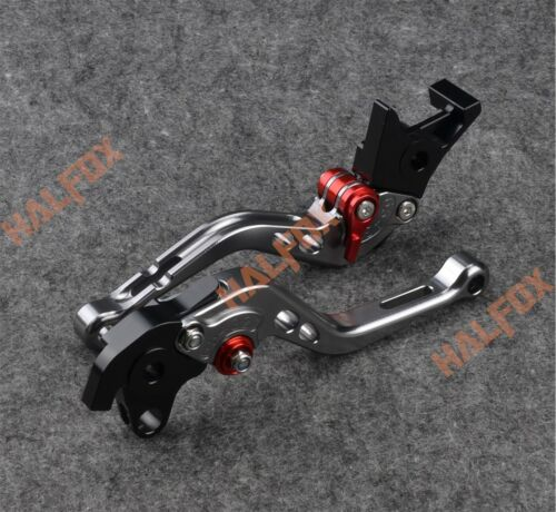 Gray Brake Clutch Levers for BMW S1000R//RR R1200R//S K1200R//S F800S F650//F750GS