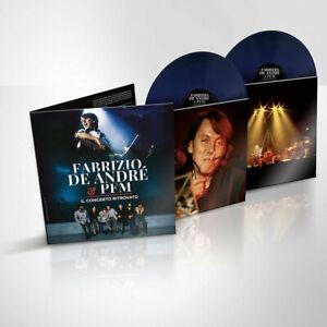 Fabrizio-De-Andre-E-Pfm-Il-Concerto-Ritrovato-Doppio-LP-Colorato-Blu-E-Spec