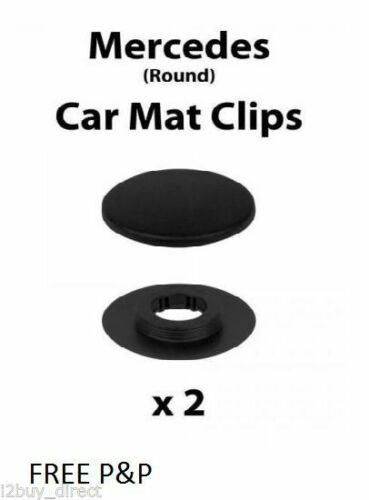 4Pcs Car Mat Carpet Floor Fixing Clips Grips Clamps For MERCEDES-BENZ