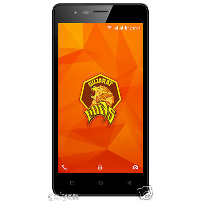 Intex Aqua Lions 4G Black+Grey 8GB