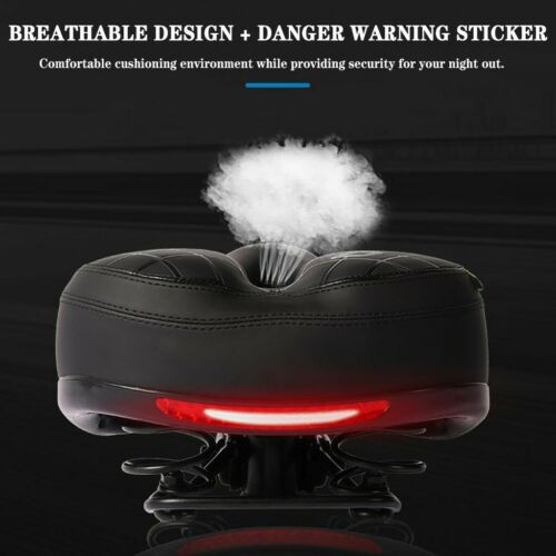 Breathable Bike Seat Soft Bycicle Saddle Wide Cycling Cushion For MTB Road Bike