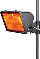 Knightsbridge IP24 1300W al aire libre calentador de infrarrojos Parrilla de malla y RS7 Tubo Negro x1