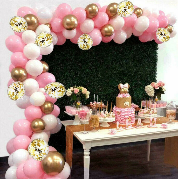 100PCS Kids Baby Shower Birthday Party Decorations Nerf Inspired/Party Supplies Balloons Arch Garland Kit