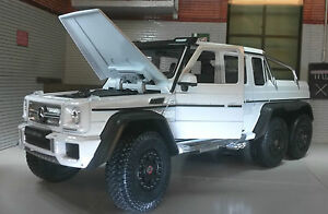 g lgb 1 24 scale mercedes g class wagon amg g 63 6x6 welly diecast model 24061 ebay. Black Bedroom Furniture Sets. Home Design Ideas