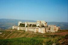555019 Crac De Chevalier A Crusader Castle A4 Photo Print