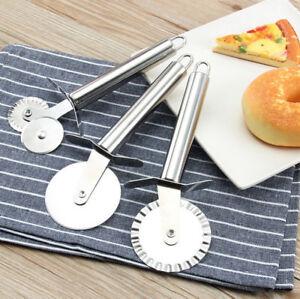 3PCS-Stainless-Steel-Single-Wheel-Pizza-Knife-Cutter-Pancake-Pastry-Pie-Slicer