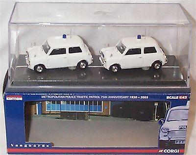 Corgi Vanguards MP1002-1//43 Scale Met Police 75th Anniversary Set