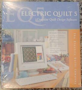 Electric Quilt 5 Completo Quilt Design De Software Completa 1 Cd 3 Livros Novo Na Embalagem Ebay