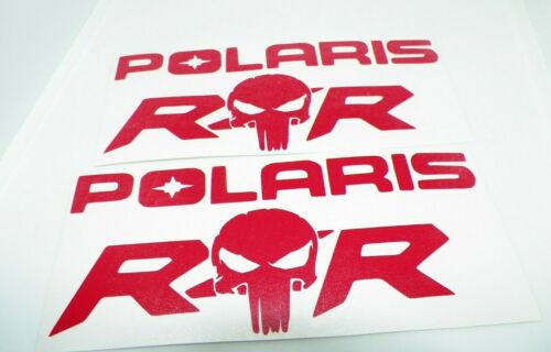 2x  polaris rzr  sticker vinyl decal for car and others