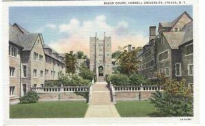 Postcard-of-Baker-Court-Cornell-University-Ithaca-NY-New-York