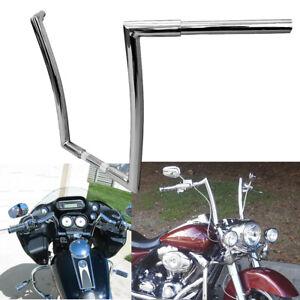 "Black 5/"" Rise 1-1//4/"" Handlebar Ape Bar Fit For Harley Touring Road King Glide"