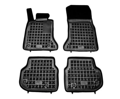 2010-2013 4-teilige schwarze Gummifußmatte für BMW 5 F10-F11 Bj