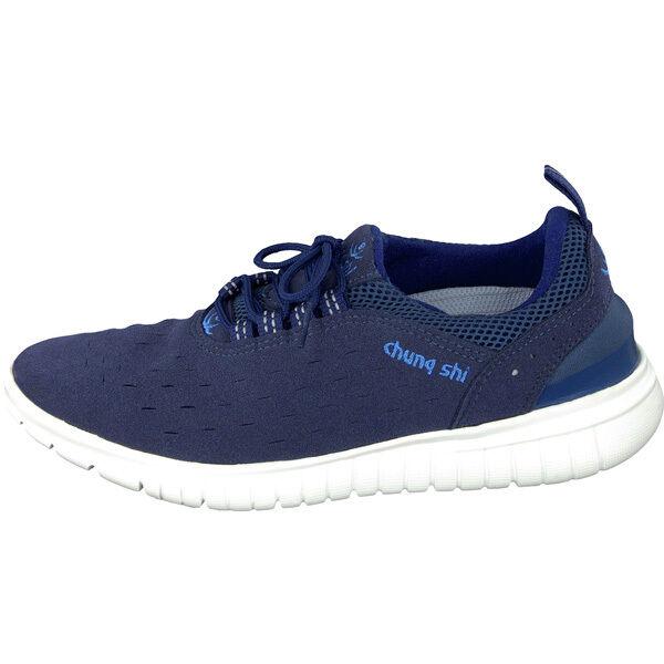 Chung Shi Duflex entrenador duxfree zapatos Men cortos zapatillas Navy 8800090
