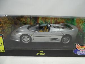 1 18 Hot Wheels Ferrari F50 Spider Silver Silber Rarität Ebay