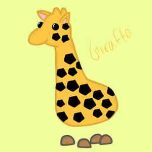 Fr Full Grown Giraffe Adopt Me Ebay
