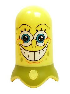 New-Girls-Boys-Spongebob-SpiderMan-Minnie-Mouse-Colour-Changing-Led-Night-Light