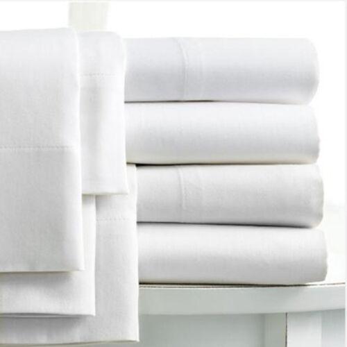 pour 90cm x 190cm Cache-sommier 1 personne en coton égyptien 400 fils blanc