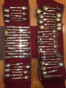 50-Pieces-Wm-Rogers-Mfg-Co-Extra-Plate-Flatware
