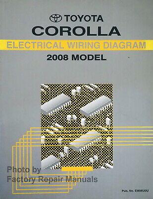 2008 Toyota Corolla Electrical Wiring, Corolla Wiring Diagram