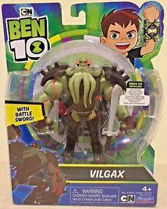 Ben 10 Playmates Vilgax With Battle Sword 2019 Figure