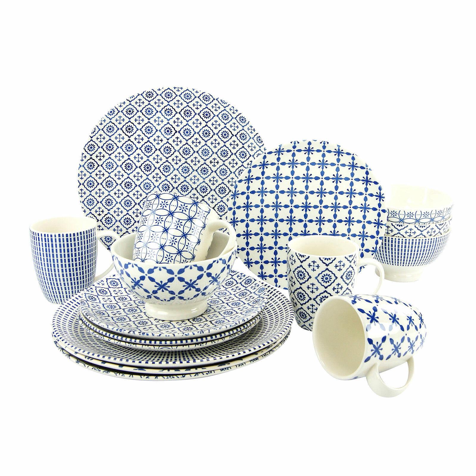 Creatable 19972 Levante Bleu Combi Service 16tlg vaisselle service de table
