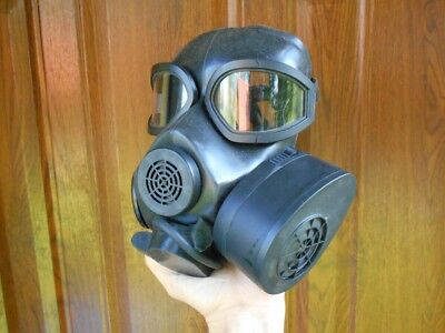 Genuine Nordic Forces NATO M61 Grey Gas Respirator Mask Filter Collectors Prop