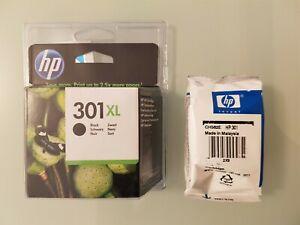 LOT DE 2 CARTOUCHES D'ENCRE( NOIRE D'ORIGINE HP 301 XL + HP 301 COULEURS).