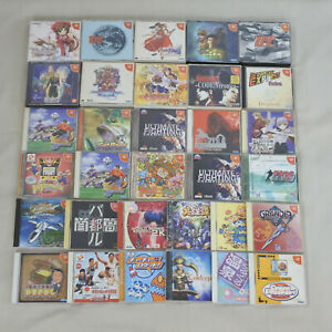 WHOLESALE-Dreamcast-Sega-Lot-30-For-JP-System-Free-Shipping-11171dc30
