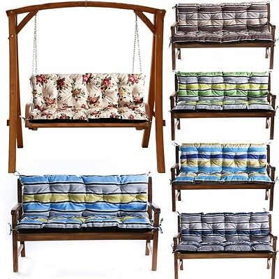 1 4seater Replacement Cushions For Garden Swing Bench