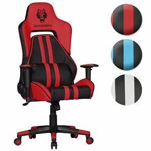 FineBuy Racing office chair desk chair 120 kg swivel chair leatherette pillows - Kümmersbruck, Deutschland - FineBuy Racing office chair desk chair 120 kg swivel chair leatherette pillows - Kümmersbruck, Deutschland
