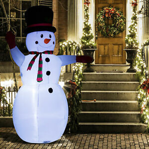8-039-Inflatable-Christmas-Snowman-Airblown-Holiday-Yard-Outdoor-Lighted-Decoration