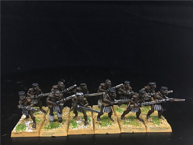 1 56 28mm Colonial War DPS painted Sudan Wars, Zulu Warriors GH1056