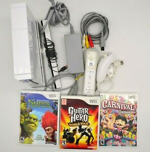 Official Nintendo Wii Console with Games and Accessories