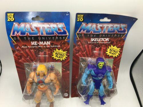 2020 Masters of the Universe Origins He Man /& Skeletor Battle Figures Walmart