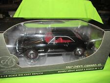1967 Chevy Camaro 67 authentic replica 1/18 black as is damaged super detail