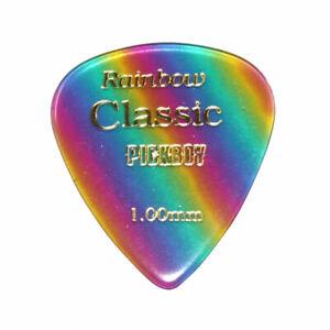1 Mediator PickBoy pb21 - Vintage Classic rainbow - 1,0 mm