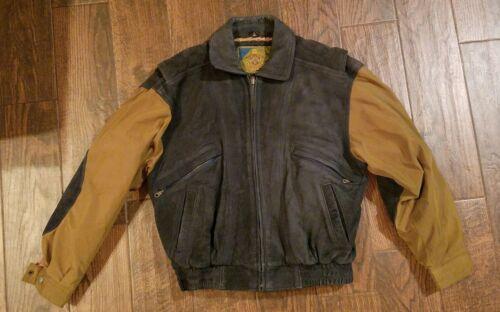 chaqueta para de marrón cazadora de de de abrigo Chaqueta M de lana vuelo cuero hombre Abrigo M de Hop Hip de XxUqSW