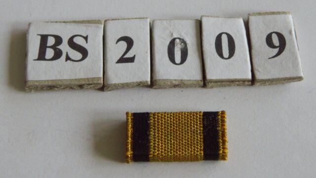 bs2009 Bandspange Modell 57  Vernichtungsabzeichen golden 25mm z aufschieben