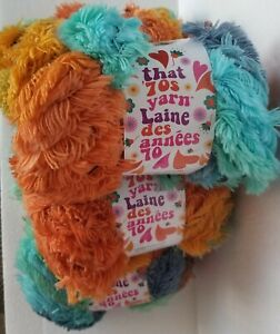 Lion-Brand-That-70-039-s-Yarn-Stellar-6-Skeins-Super-Bulky-New
