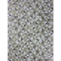 Osborne & Little Abstract Zircona Wallpaper W6760-02 Stone Wide Width