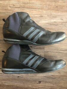 Adidas Originales Porsche Design S2 Conducción Zapatos Negro Cuero ...