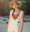 Rainbow-Striped-Knitted-Fabric-Elastane-Stretch-Jersey-Cuff-Material-100-X-170cm thumbnail 9
