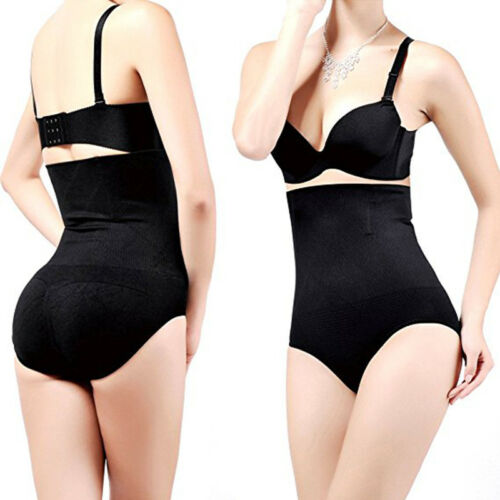 Women High Waist Body Shaper Control Brief Shapewear Panty Tummy Slim Underwear